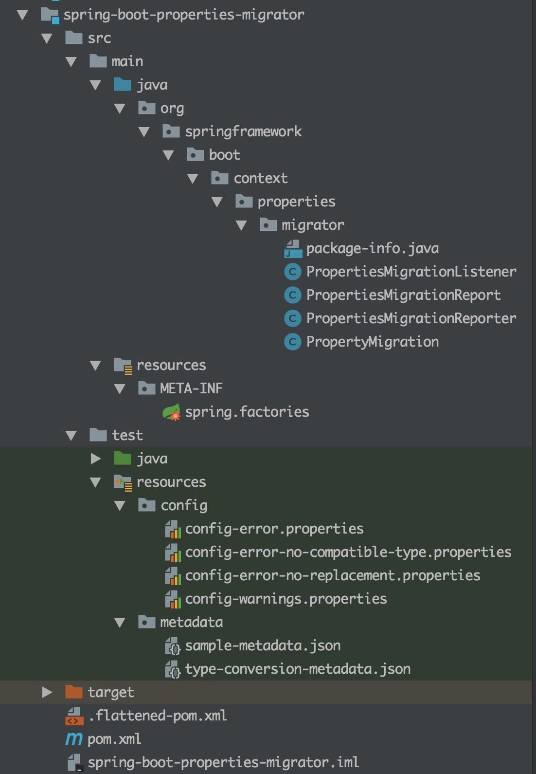 springboot-properties-migrator